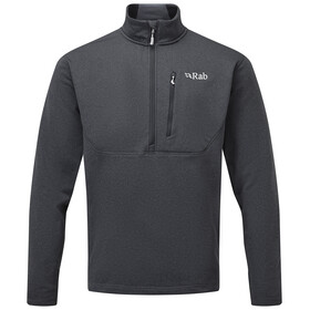 Rab Geon Pull-On Sweater Men, black/steel marl